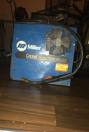 Miller cricket 1150 volt wire welder gun for Sale in Hazelwood, MO