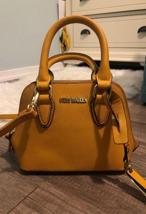 Steve Madden yellow mustard bag for Sale in Annandale, VA