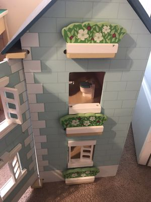 Wooden doll house for Sale in Raleigh, NC
