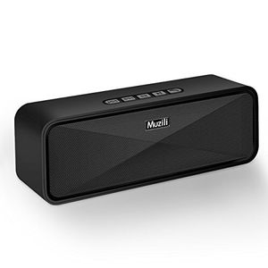 Wireless Bluetooth Speakers, Muzili Outdoor Portable Stereo Speakers with HD Audio and Enhanced Bass, Built-In Dual Driver Speakerphone, Bluetooth 4. for Sale in Morrisville, NC
