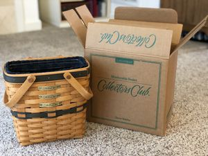 Longaberger Collectors Club and Miniature Baskets - Lot of 5 for Sale in Bellevue, WA