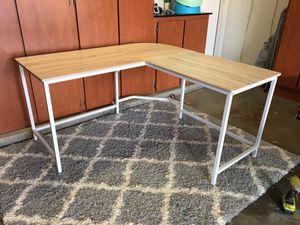 Beautiful new L shaped corner desk for Sale in Phoenix, AZ