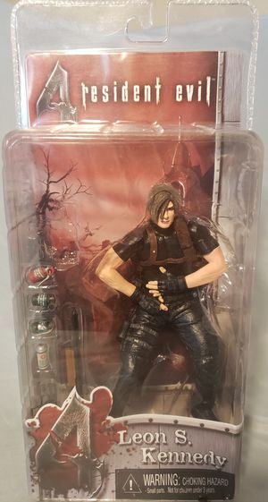 NECA Resident Evil 4 Leon S. Kennedy Action Figure. Condition is New. for Sale in El Cajon, CA