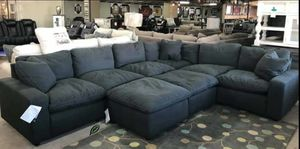 $39 Down  🍃🍂 BEST DEAL Savesto Charcoal Modular Sectional 296 for Sale in Jessup, MD