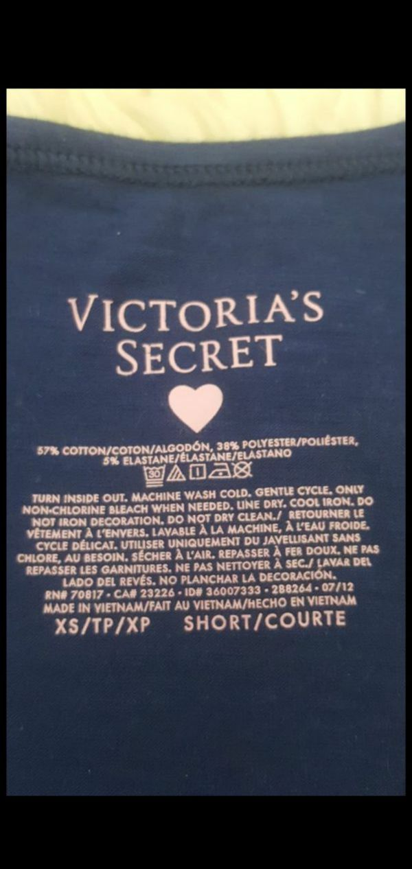 Victoria's Secret blue angel Tank Top size XS