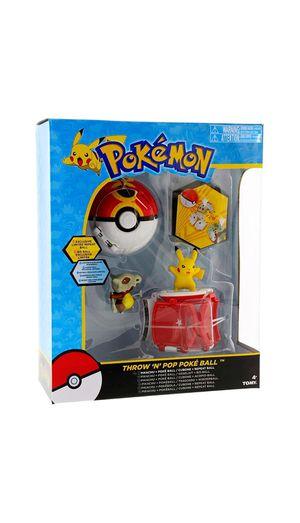 Tomy Pokemon Throw 'N' Pop Duel Pikachu Pokeball & Cubone Repeat Ball Figure Set for Sale in Las Vegas, NV