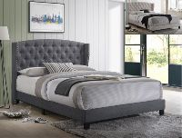 ***NEW QUEEN BED Frame Gray ****offer up price😱 for Sale in Mission, TX