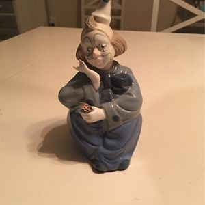 Porcelain Clown Figurine for Sale in Middletown, NJ