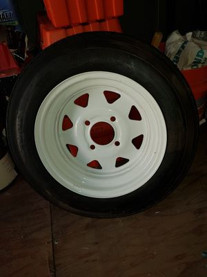 Trailer Wheel 4.80 x 12 New Eco Trail St for Sale in Santee, CA