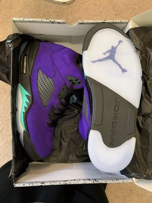 Jordan 5 grape for Sale in Woodbridge, VA