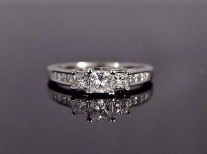 14k zei princess cut diamond ring for Sale in San Diego, CA