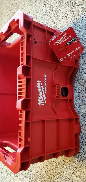 NEW Milwaukee PACKOUT Stackable Crate for Sale in CORNWALL Borough, PA