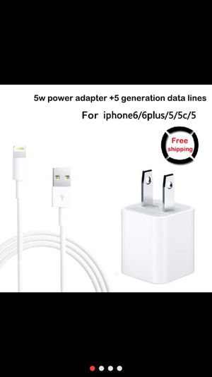 USB charger wall adapter & USB Data sync cable for Sale in New York, NY