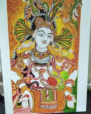 Indian canvas art for Sale in Apex, NC