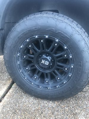 Nitto A/T Terra Grappler G2. With CD HOSS 2 RIMS. 275/65/R20 for Sale in Starkville, MS