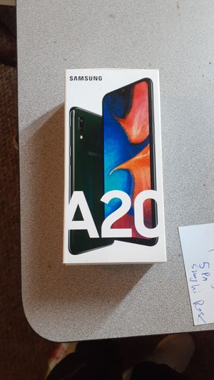 Samsung galaxy a20 unlocked to verizon with case for Sale in Los Angeles, CA