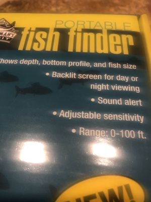 Portable Fish Finder for Sale in Buckley, WA