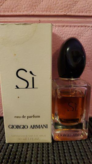 Giorgio Armani Perfum Si for Sale in Odessa, TX