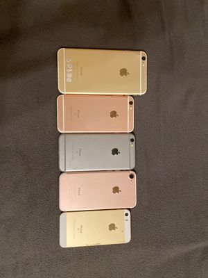 5 iPhones ALL ICLOUD UNLOCKED!! for Sale in McDonough, GA