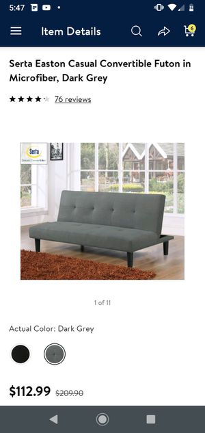 Like new futons have 2 for Sale in Miami, OK
