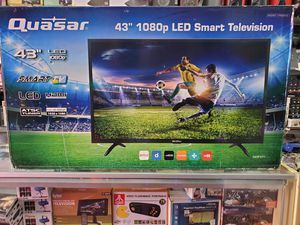 """43"""" LED SMART TV AVAILABLE BY QUASAR SAME AS PANASONIC. BRAND NEW for Sale in Los Angeles, CA"""