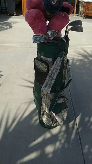 Women Golf Bag and 10 Clubs for Sale in Wildomar, CA