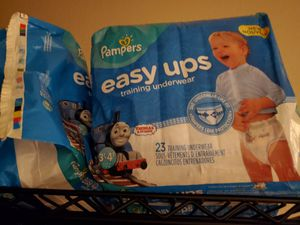 New boy Pampers easy ups training diapers for Sale in Grand Prairie, TX