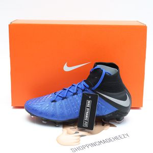 (Available 4Y, 6Y) Nike Hypervenom Phantom 3 Elite DF FG JR Soccer Cleats AJ3791-400 for Sale in Euless, TX