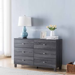 NEW IN THE BOX, CLEARANCE, DISSTRESSED GREY DRESSER, SKU#TCY5204. for Sale in Huntington Beach,  CA