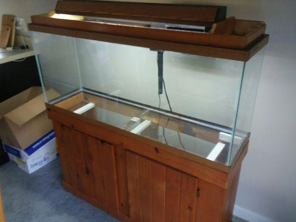 50 Gallon Aquarium W/ Stand, Filter, Accessories