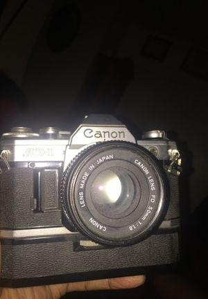 Canon AE1 Film Camera Auto rewinding for Sale in Sacramento, CA