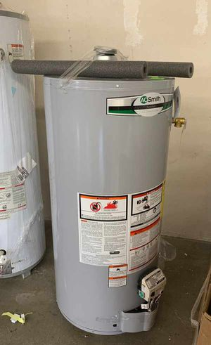 NEW AO SMITH WATER HEATER WITH WARRANTY 40 gallons TWL for Sale in Allen, TX