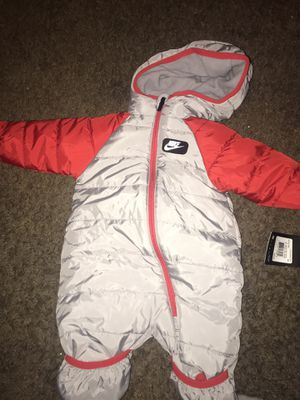 Nike snow suit 3 month old for Sale in Washington, DC
