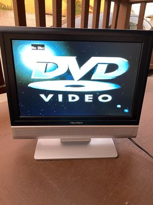 "19"" TruTech LCD TV/DVD Player Combo (WorkS 100%) 720p Widescreen PLV31199S1 for Sale in Los Angeles, CA"