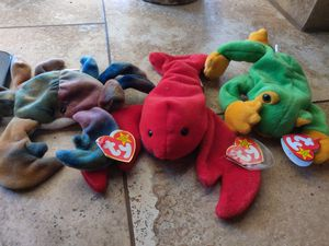 Beanie Babies Group of 3 for 5.00 for Sale in Tempe, AZ