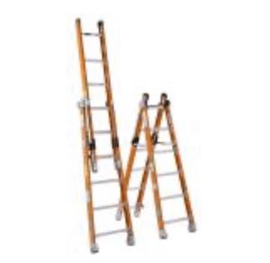 """12"""" fiberglass can be step or extension ladder for Sale in Oakland, CA"""
