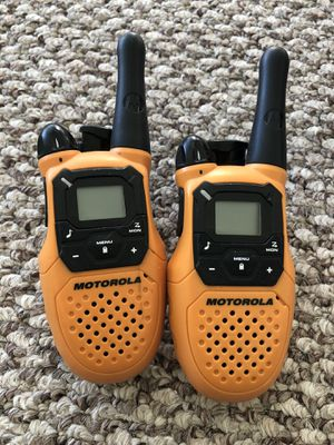 Motorola 16-Mile 22-Channel FRS/GMRS Two-Way Radio for Sale in Washington, DC