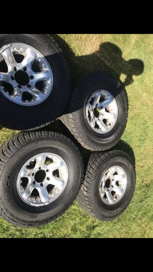 Rims and tires for Sale in Federal Way, WA
