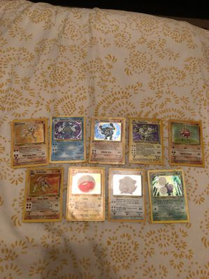 200+ Cards POKEMON COLLECTION OLD RARE CARDS (1st Ed Machamp) for Sale in La Mirada, CA