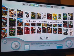2 TB modded Nintendo wii for Sale in Irving, TX