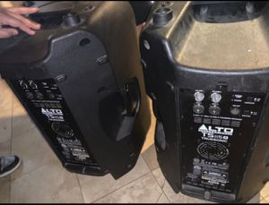 Alto powered speakers 15s for Sale in Las Vegas, NV