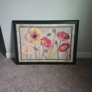 large framed home decor wall art for Sale in Raleigh, NC