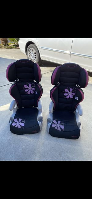 Highback Booster Seats with Cupholders for Sale in Encinitas, CA