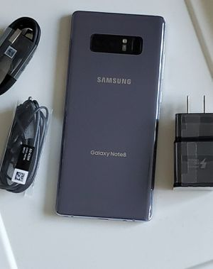 Samsung Galaxy Note 8, Factory Unlocked, Budget phone, Usable with any SIM Carrier Locally and Internationally. Excellent condition like new. for Sale in Springfield, VA