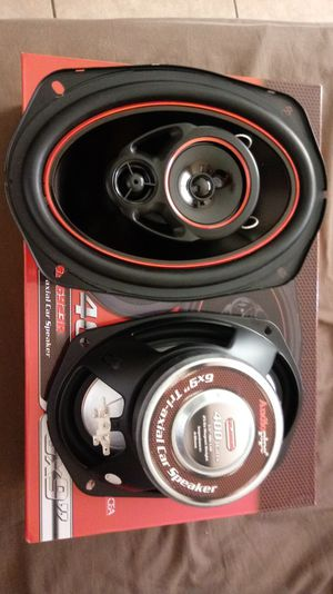 NEW 6×9 Auidiopipe Speakers 400 watts for Sale in Mesa, AZ