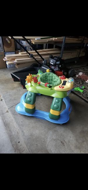Kids playground walker and high chair for Sale in Columbia, MD