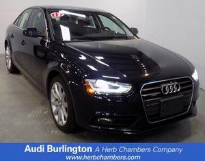 2013 Audi A4 Premium plus for Sale in Burlington, MA