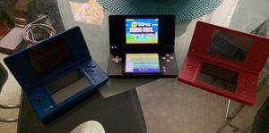 3 Nintendo DSI's Like new with 2 Games for Sale in Golden, CO