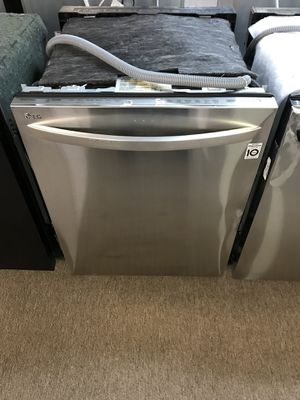 Lg stainless dishwasher. Only $50 down. 3 rack model with stainless Tub for Sale in Houston, TX