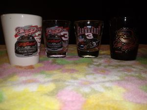 Dale Earnhardt shot glasses for Sale in McDonald, TN